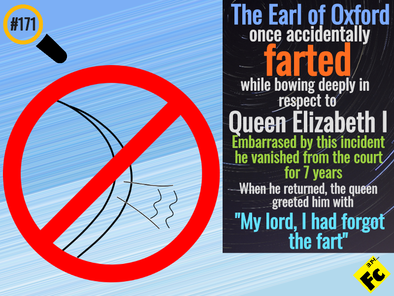 the fart of earl of oxford